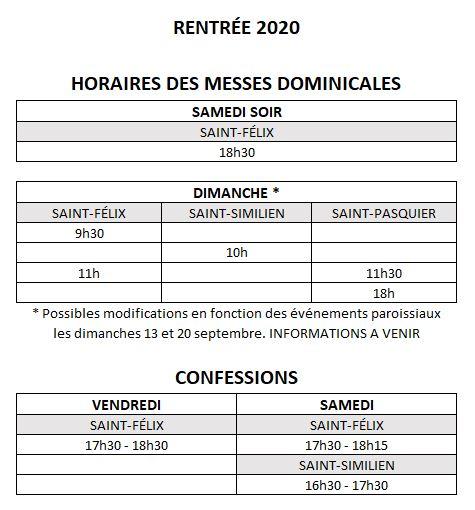 horaires-ete-2020